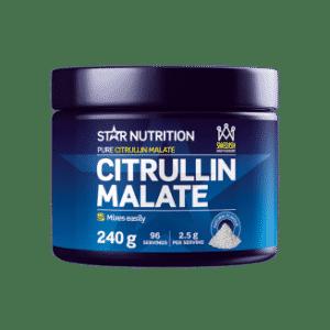Citrullin malate bidrar til økt energi og blodtilførsel