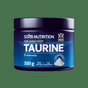 taurine bidrar til økt energi på trening