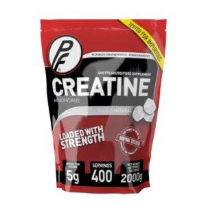 Kreatin Monohydrat fra Proteinfabrikken. Beste kreatin i vår test.