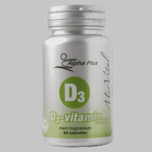 Vitamin D er et bra kosttilskudd