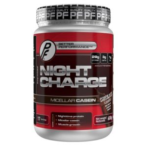 Night Charge proteinpulver har svært høyt proteininnhold