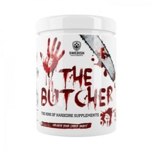 Best i vår pre workout test, Butcher PWO fra Swedish Supplements