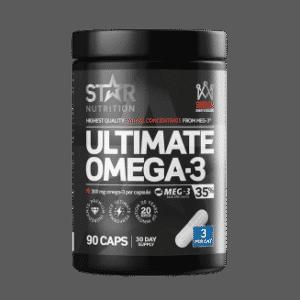 Omega 3 fra Star Nutrition, et av de beste kosttilskudd