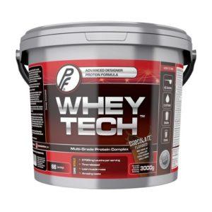 Whey Tech proteintilskudd fra Proteinfabrikken, som kommer godt ut i vår proteinpulver tes